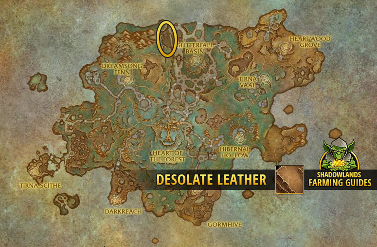 Another Farmspot for Desolate Leather in Ardenweald
