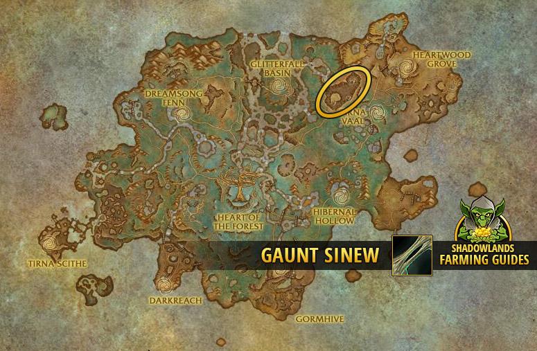 Farmspot for Gaunt Sinew in Ardenweald