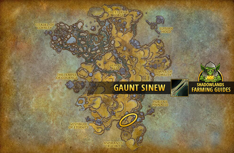 Another farmspot for Gaunt Sinew in Bastion