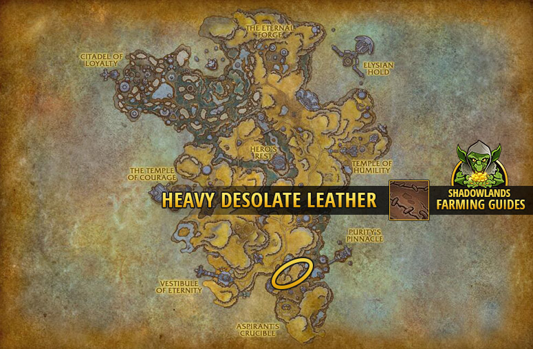 Another farmspot for Heavy Desolate Leather in Bastion