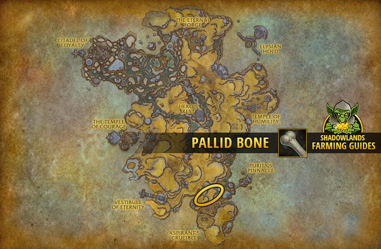 Another farmspot for Pallid Bone in Bastion