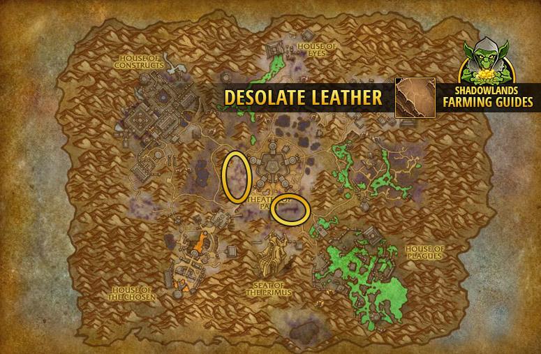 Farmspot for Desolate Leather in Maldraxxus