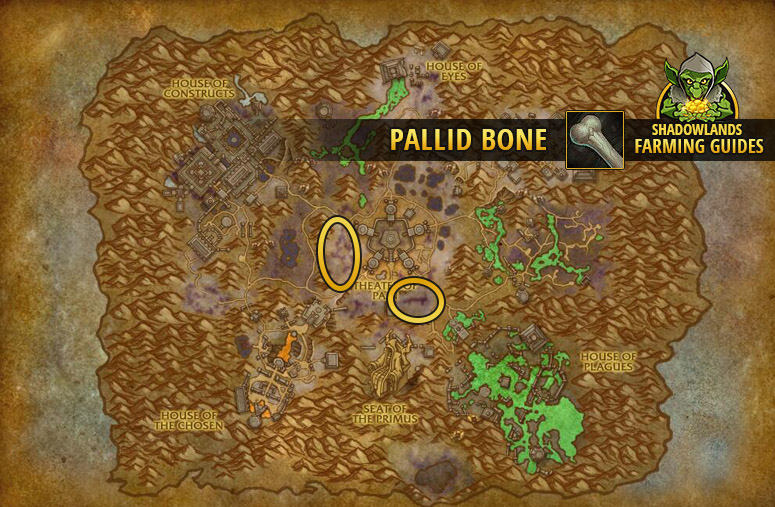 Farmspot for Pallid Bone in Maldraxxus