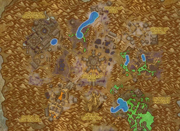 Most used spots for Fishing Elysian Thade in Maldraxxus