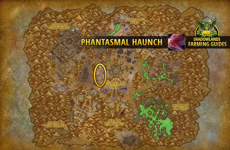 Farmspot for Farming Phantasmal Haunch in Maldraxxus